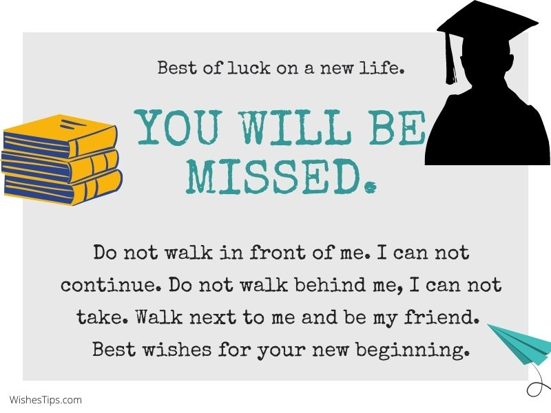 Best Wishes For Friend Going Abroad For Higher Studies Farewell Message Quotes
