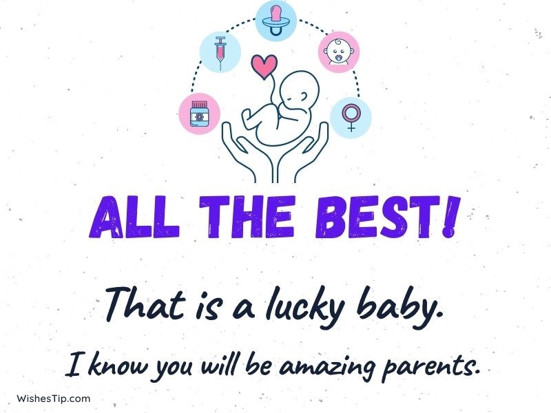 Baby Shower Card Message wishes quotes pregnancy