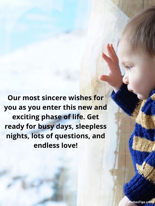 Baby Shower Message