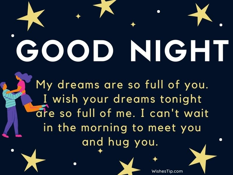 Good Night Message For Her With Love wishes images