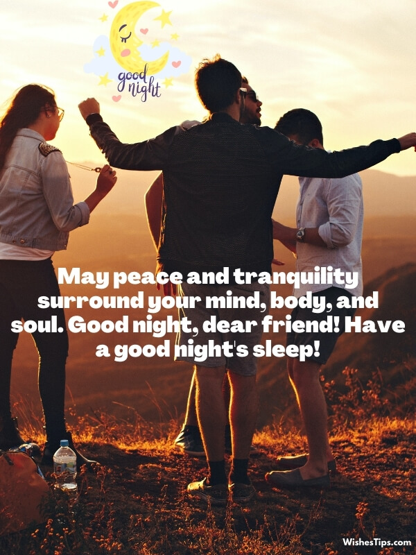 Goodnight Messages For FriendGoodnight Messages For Friend