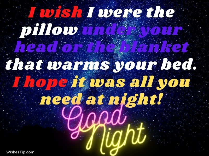 Sweet Good Night My Love Messages